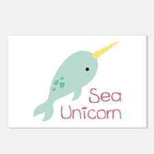 Sea Unicorn Postcards (Package of 8)