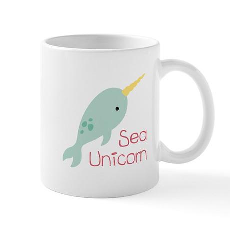 Sea Unicorn Mugs