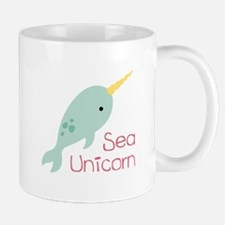 Sea Unicorn Mugs