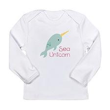 Sea Unicorn Long Sleeve T-Shirt