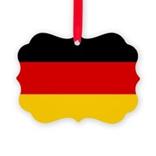 Germany Flag Picture Ornament