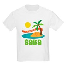 I Love Saba T-Shirt