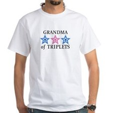 Grandma of Triplets (Boys, Girl) Stars Shirt