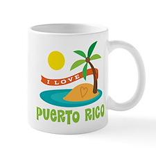 I Love Puerto Rico Mug