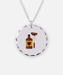 Barbeque Sauce Meat Necklace