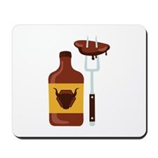 Barbeque Sauce Meat Mousepad
