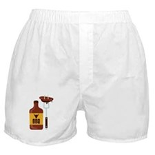 Barbeque Sauce Meat BBQ Boxer Shorts