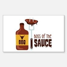 BOSS OF THE SAUCE Decal