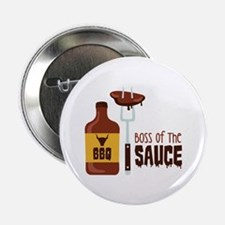 "BOSS OF THE SAUCE 2.25"" Button"