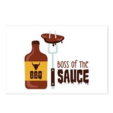 BOSS OF THE SAUCE Postcards (Package of 8)