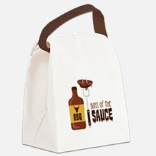 BOSS OF THE SAUCE Canvas Lunch Bag