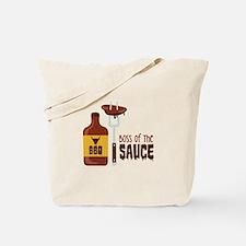 BOSS OF THE SAUCE Tote Bag