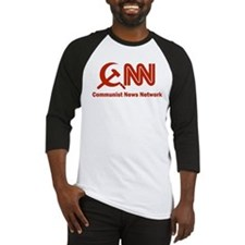 CNN - Commie News Network Baseball Jersey