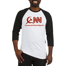 CNN - Commie News Network Baseball Jersey
