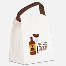 Now Were COOKIN Canvas Lunch Bag