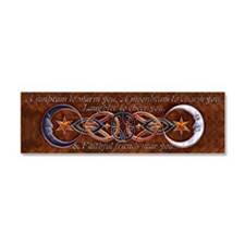 Harvest Moons Celtic Moons Car Magnet 10 x 3