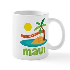 I Love Maui Mug