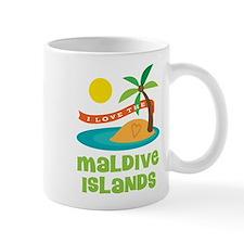 I Love The Maldive Islands Mug