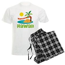 I Love Hawaii Pajamas