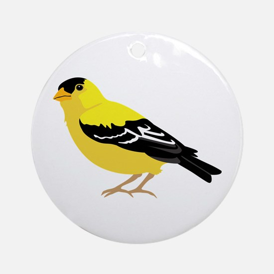 American Goldfinch Ornament (Round)