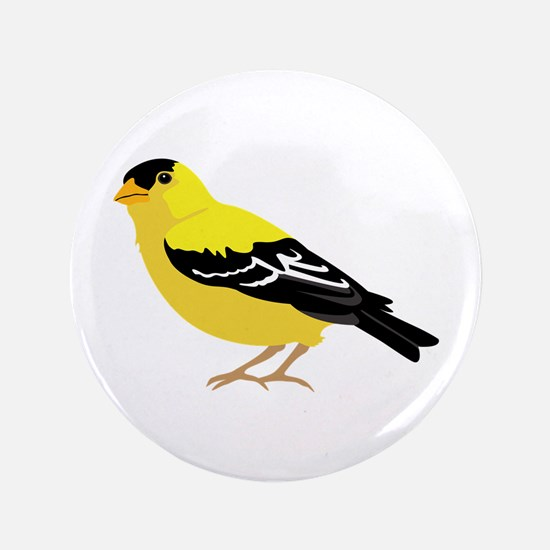 "American Goldfinch 3.5"" Button"