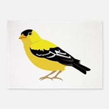 American Goldfinch 5'x7'Area Rug