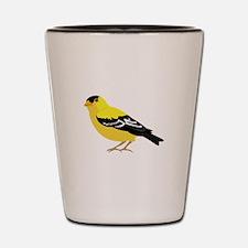 American Goldfinch Shot Glass