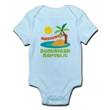 I Love The Dominican Republic Infant Bodysuit