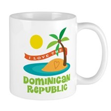 I Love The Dominican Republic Mug