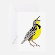 Western Meadowlark Greeting Cards