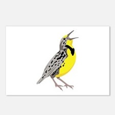 Western Meadowlark Postcards (Package of 8)