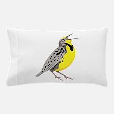 Western Meadowlark Pillow Case