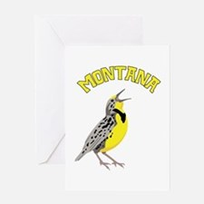 MONTANA Meadowlark Greeting Cards