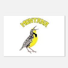 MONTANA Meadowlark Postcards (Package of 8)