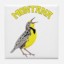 MONTANA Meadowlark Tile Coaster