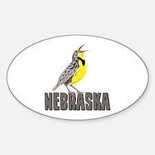 NEBRASKA Meadowlark Decal