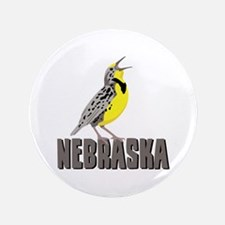 "NEBRASKA Meadowlark 3.5"" Button (100 pack)"