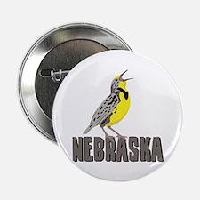 """NEBRASKA Meadowlark 2.25"""" Button"""