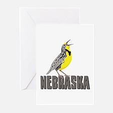 NEBRASKA Meadowlark Greeting Cards