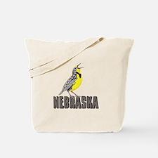 NEBRASKA Meadowlark Tote Bag