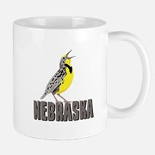 NEBRASKA Meadowlark Mugs