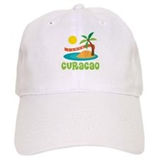 I Love Curacao Baseball Cap
