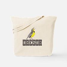 OREGON Meadowlark Tote Bag