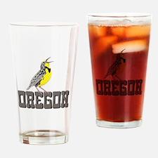 OREGON Meadowlark Drinking Glass