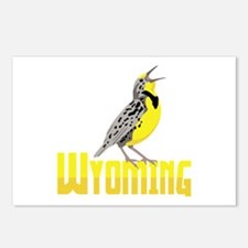 WYominG Meadowlark Postcards (Package of 8)