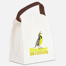 WYominG Meadowlark Canvas Lunch Bag
