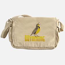 WYominG Meadowlark Messenger Bag