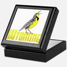 WYominG Meadowlark Keepsake Box