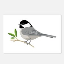 Black-Capped Chickadee Postcards (Package of 8)