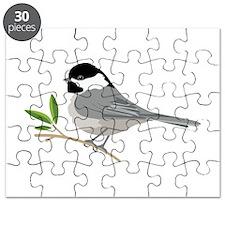 Black-Capped Chickadee Puzzle
